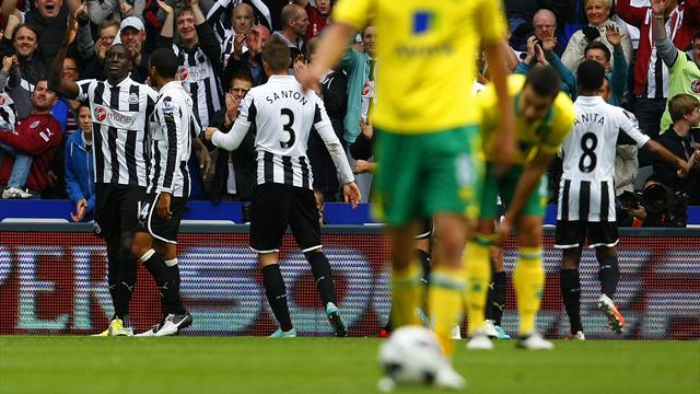 Newcastle beat Norwich - Football - Premier League