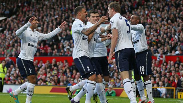 Spurs vann på Old Trafford - Fotboll - Premier League