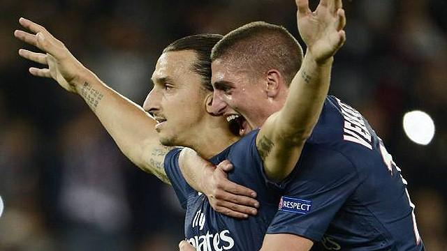 "Ibrahimovic ""surpris"" par Verratti"