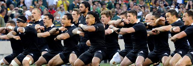 Carton plein des Blacks - Rugby - Four-Nations