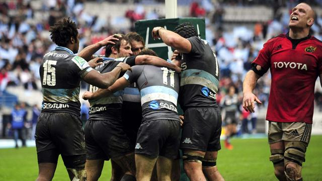 Le Racing renverse le Munster - Rugby - Coupe d'Europe