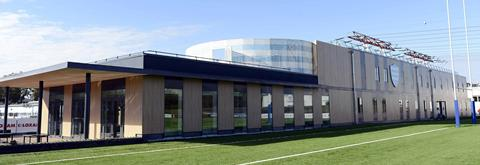 Racing: Inauguration d\'un centre d\'entraînement ultra moderne - Rugby - Top 14