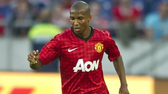 Ashley Young has only featured twice for Manchester United this season