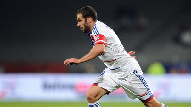 FOOTBALL Ligue 1 2012 Lyon Lisandro Lopez