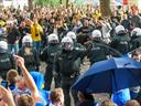 German football sees crowd trouble hit 12-year-high