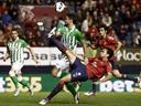 Osasuna and Betis share spoils