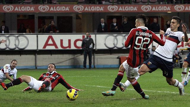 El Shaarawy strike gives Milan much-needed win over Genoa - Football - Italian Serie A