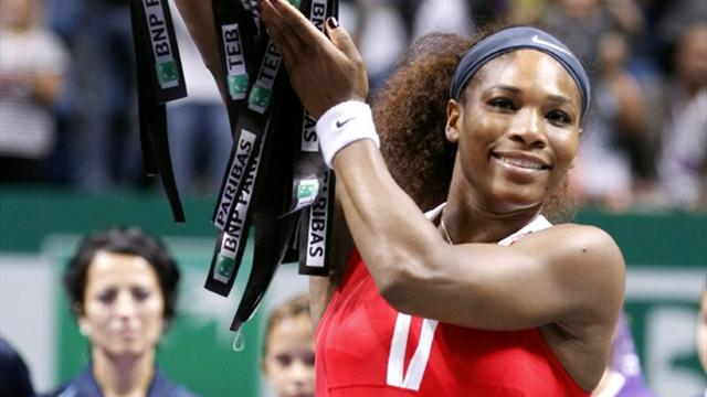 Serena Williams named WTA Player of the Year