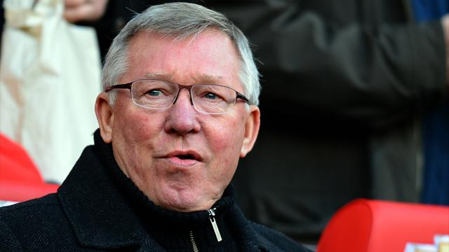 Manchester United manager Sir Alex Ferguson looks on during his side's 2-1 Premier League win at home to Arsenal on November 3 2012 (AFP)