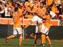 Moffat screamer as Dynamo down Sporting