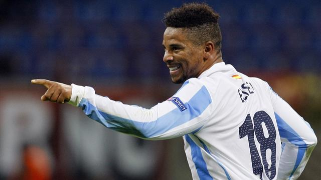 Eliseu pinching himself after helping Malaga qualify - Football - Liga