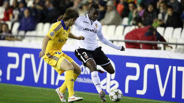 Valencia record another comfortable win over BATE  - Football - Champions League