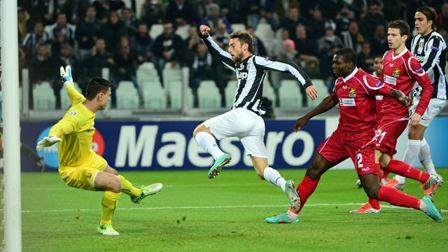 Juventus too good for Nordsjælland - Football - Champions League
