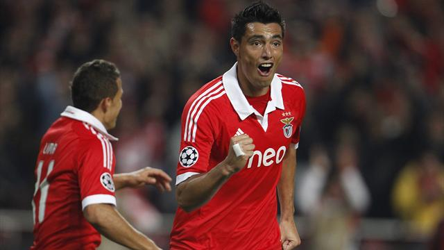 Cardozo inspires Benfica to win over Spartak - Football - Champions League
