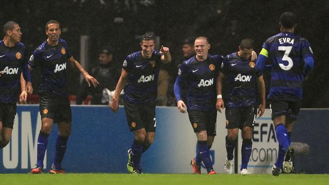 Manchester United win group after victory at Braga