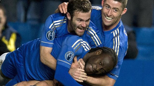 Moses gives Chelsea dramatic last-gasp win - Football - Champions League