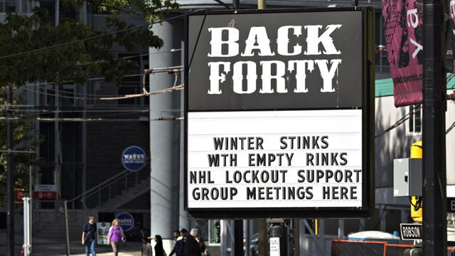 'No progress' in lockout talks between league, players  - Ice Hockey - NHL