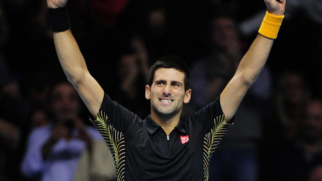 Djokovic cruises past Berdych into semis - Tennis - ATP World Tour Finals