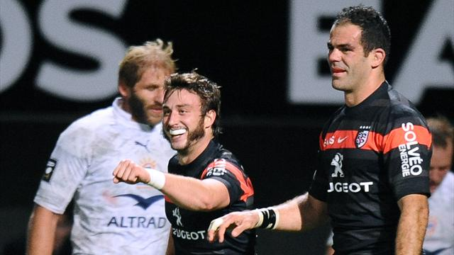 Toulouse down Montpellier to go second - Rugby - Top 14