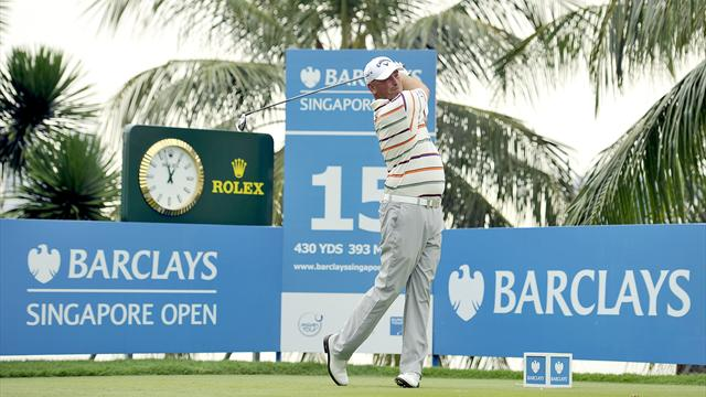 Bjorn edges ahead in Singapore third round - Golf