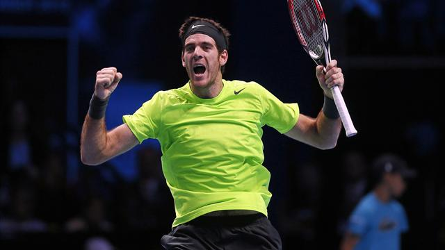 Del Potro downs Federer to make semis - Tennis - ATP World Tour Finals