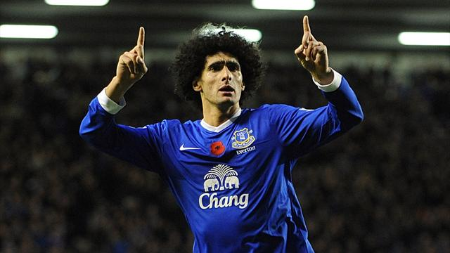 Fellaini inspires Everton to beat Sunderland - Football - Premier League