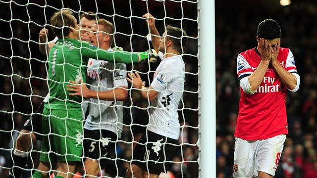 Arsenal's woes continue with dramatic Fulham draw - Football - Premier League