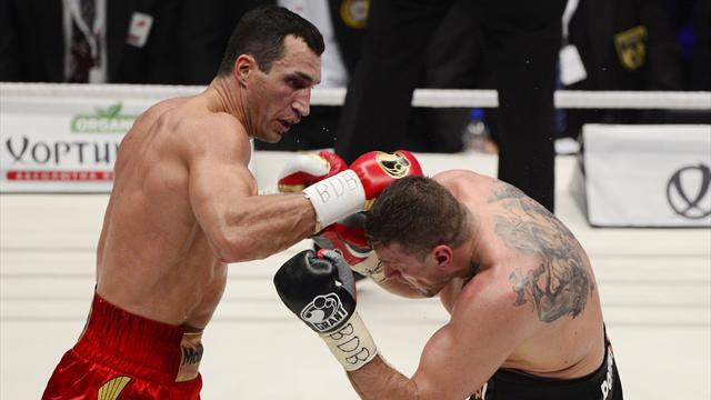 Wladimir Klitschko outclasses Wach in Hamburg - Boxing