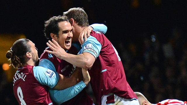 Landmark O'Brien goal earns West Ham draw with Stoke - Football - Premier League