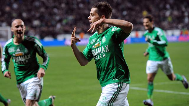 FOOTBALL 2012 Saint-Etienne Romain Hamouma