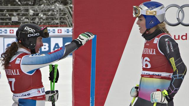 Sick Vonn sits out training