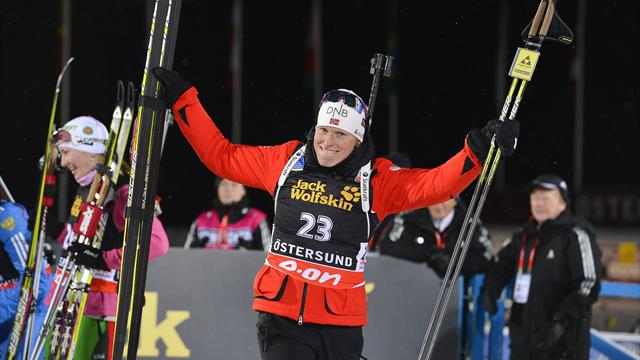 Berger opens season with Oestersund win - Biathlon
