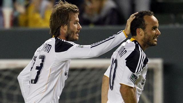 Don't quit yet, Beckham urges Donovan