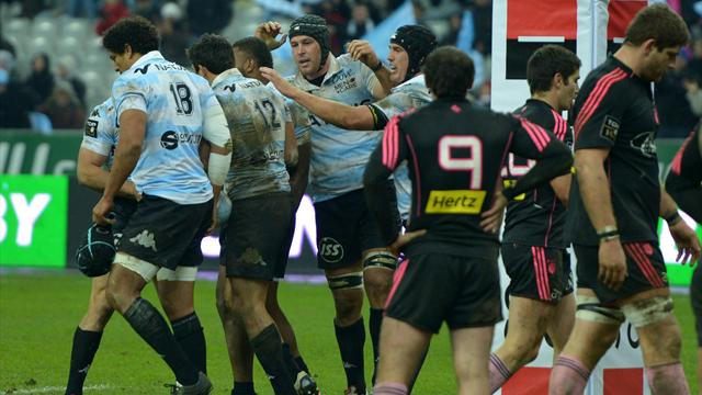 Le derby sourit au Racing-Métro - Rugby - Top 14