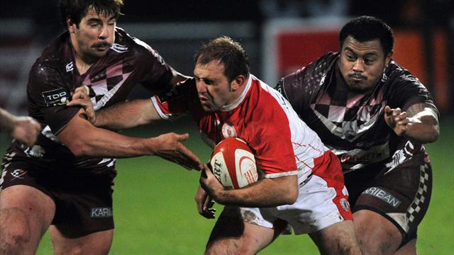 Biarritz s'en sort bien - Rugby - Top 14