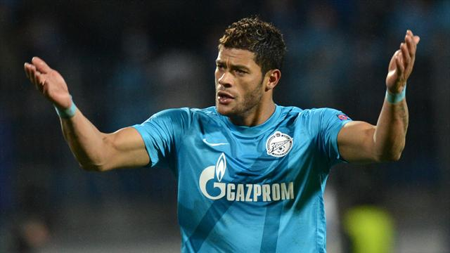 Hulk threatens to quit Zenit after Spalletti spat