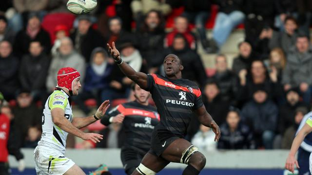 "Nyanga: ""Content d'avoir pris le bonus"" - Rugby - Coupe d'Europe"