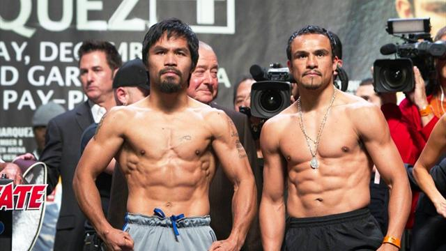 Pacquiao gets Romney pep talk before Marquez bout