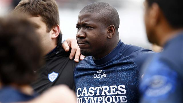Castres: Lourde suspension pour Diarra ? - Rugby - Coupe d'Europe