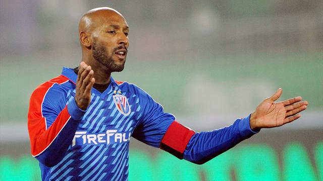 Anelka training with PSG - Football - French Ligue 1