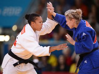 Top 10 France 2012: Lucie Decosse (judo) à la 7e place - Omnisport - Top 10 France 2012