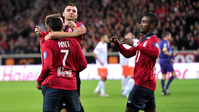 Lille en père Fouettard - Football - Ligue 1