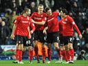 Cardiff sink Leicester, Posh win nine-goal thriller