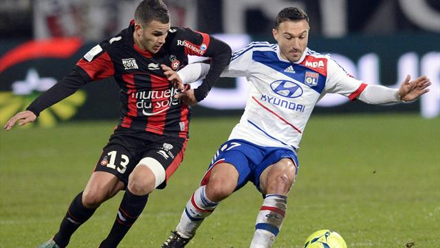 L'OL ne lâche pas le PSG - Football - Ligue 1