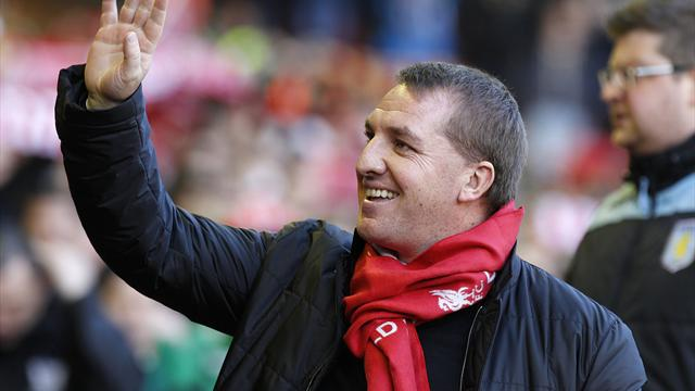 Brendan Rodgers, pictured, hopes Stewart Downing can continue to improve