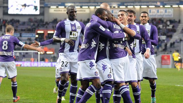 Toulouse retrouve des couleurs - Football - Ligue 1