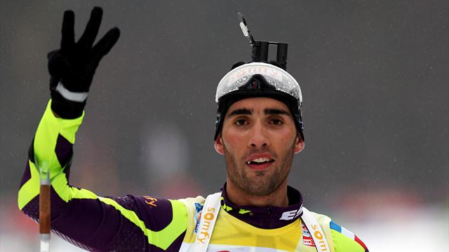 Martin Fourcade, champion hors norme   - Omnisport - Top 10 France 2012