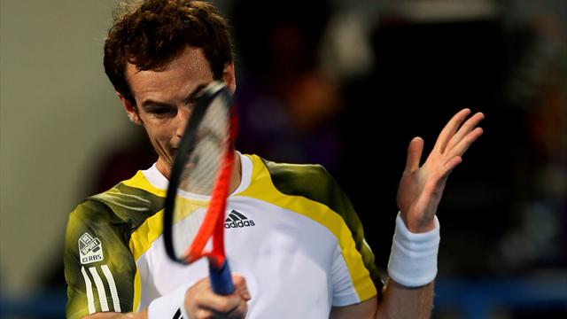 Murray stumbles to defeat in Abu Dhabi