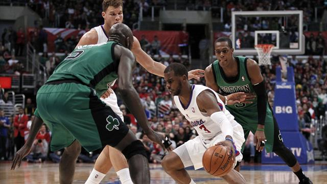 Clippers bully Celtics to extend winning streak