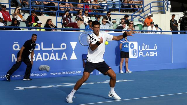 Djokovic to face Almagro in Abu Dhabi final